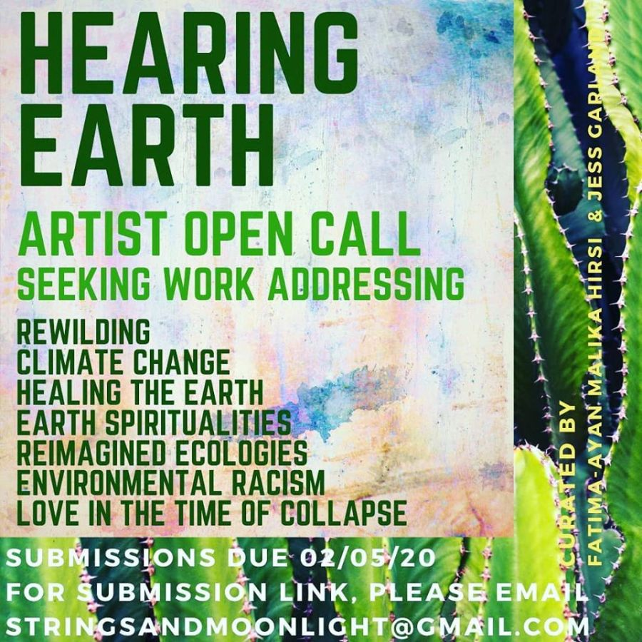 HEARING EARTH IG CALL